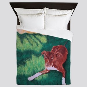Rollin' in the Grass Queen Duvet